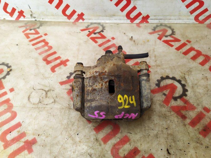 Суппорт Toyota Probox NCP55 1NZFE левый (б/у) 924