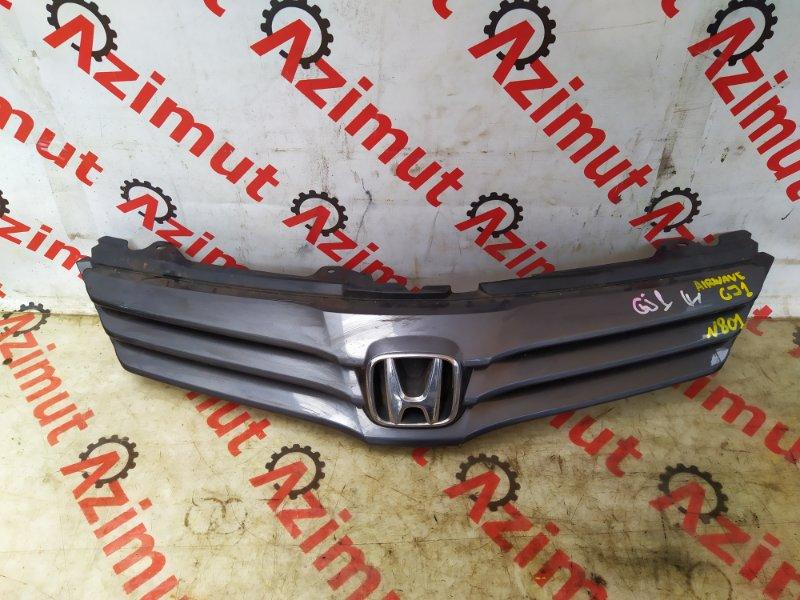 Решетка радиатора Honda Airwave GJ1 2009 (б/у) 71121-SLA-J01-M1