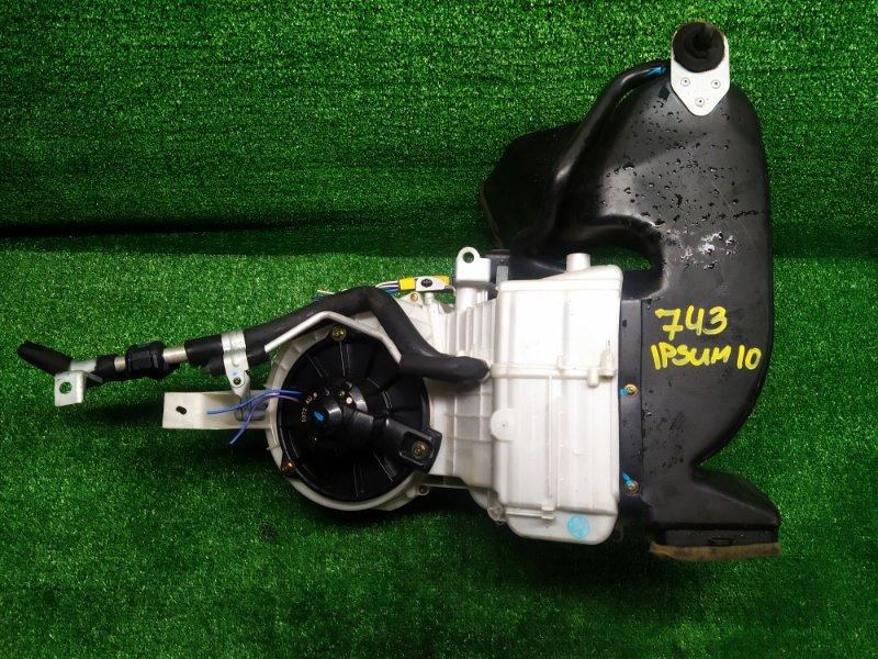 Печка Toyota Ipsum SXM15 3S-FE 1999 задняя (б/у) 743