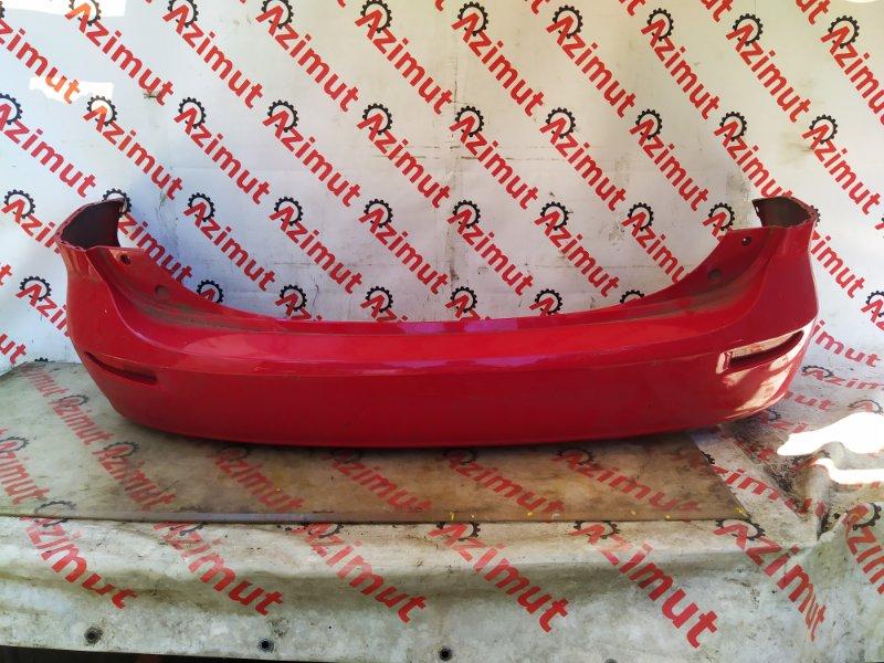 Бампер Mazda Premacy CREW LFDE 2007 задний (б/у) 089