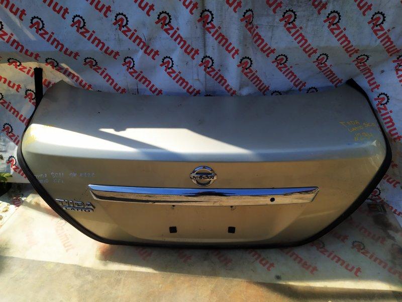 Крышка багажника Nissan Tiida Latio SC11 2006 (б/у) 294