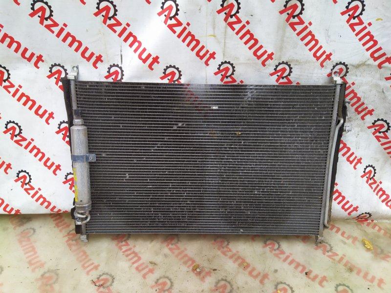 Радиатор кондиционера Nissan Fuga PNY50 VQ35DE 2004 (б/у)