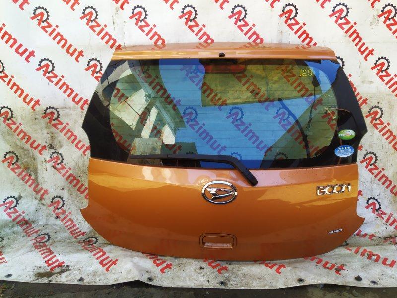 Дверь задняя Daihatsu Boon M600S 2011 (б/у) 129