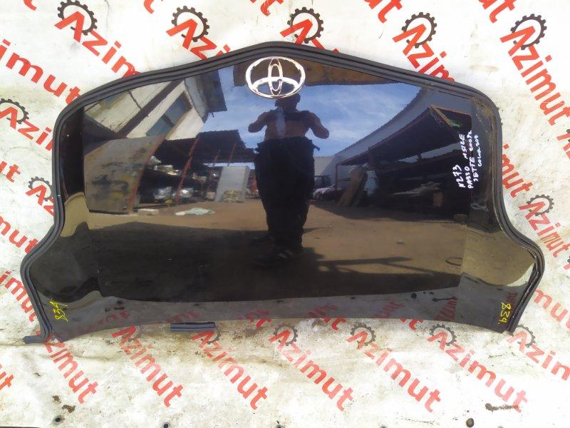 Капот Toyota Passo Sette M512E 3SZVE 2009 (б/у) 834