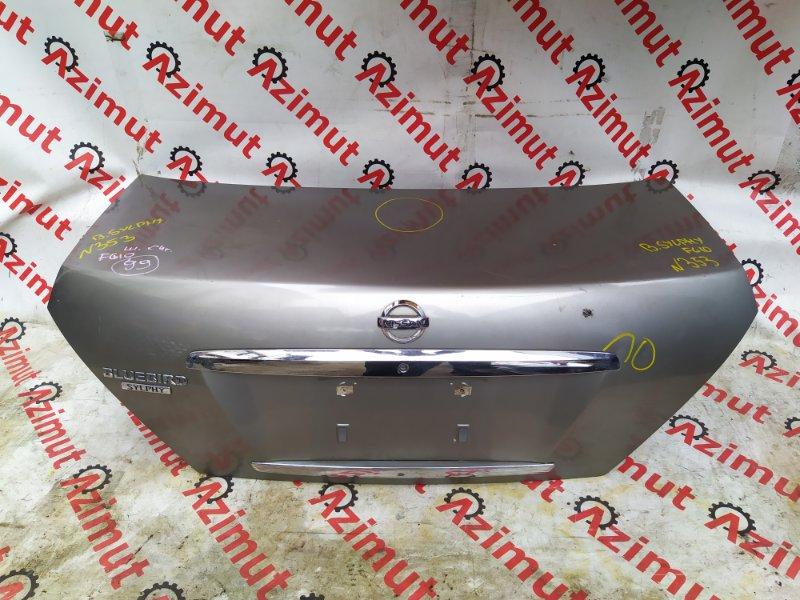 Крышка багажника Nissan Bluebird Sylphy FG10 QG15DE 2004 (б/у)