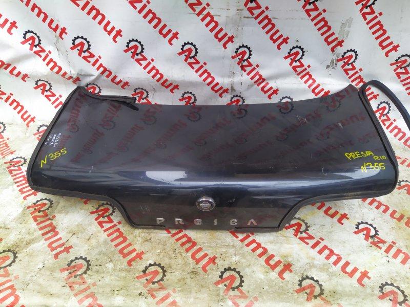 Крышка багажника Nissan Presea R10 1992 (б/у) 355