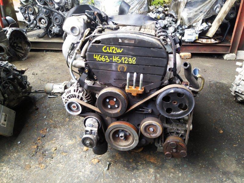 Двигатель Mitsubishi Airtrek CU2W 4G63T 2003 (б/у) HS1298