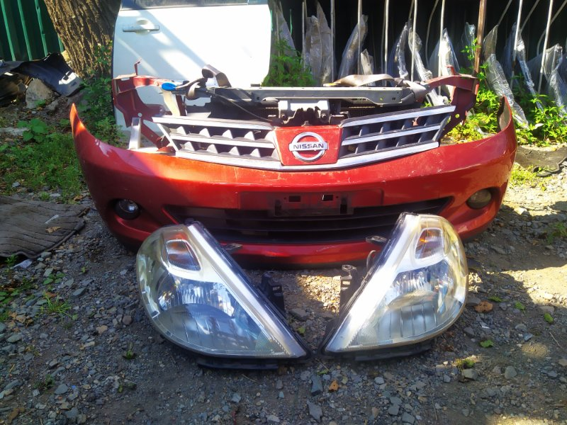 Nose cut Nissan Tiida C11 HR15DE 2009 (б/у) 400