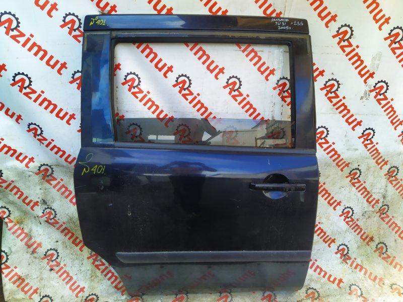 Дверь Nissan Presage TU31 QR25DE 2005 задняя правая (б/у)