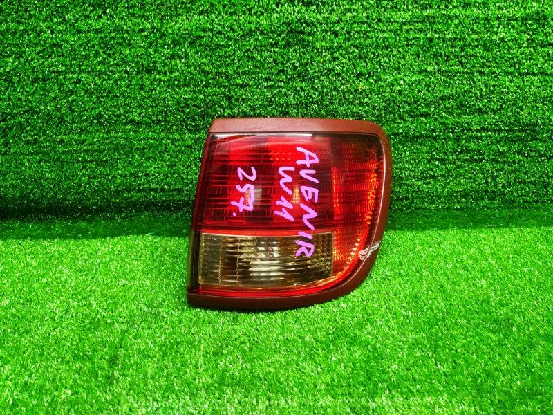 Стоп-сигнал Nissan Avenir W11 QG18DE 2001 правый (б/у) 206 220-24792