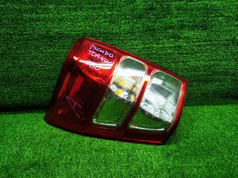 Стоп-сигнал Suzuki Escudo TDA4W J24B 2013 левый (б/у) 240 220-59079