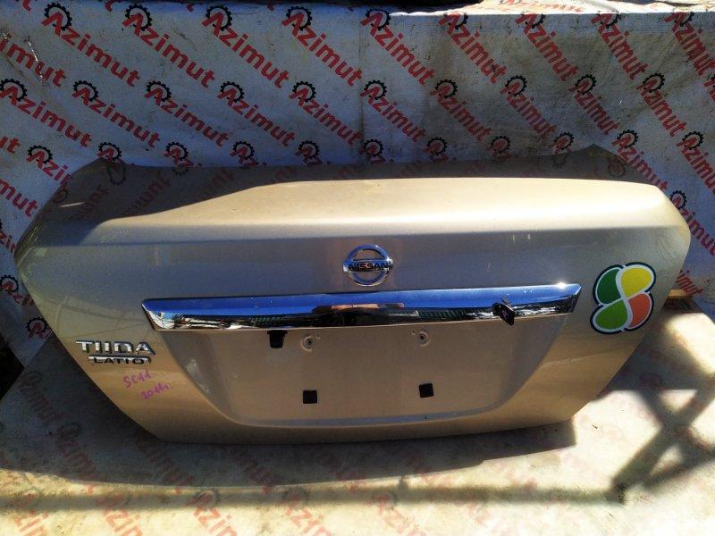 Крышка багажника Nissan Tiida Latio SC11 2011 (б/у) 453/2