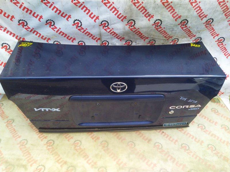 Крышка багажника Toyota Tercel EL55 5EFE 1997 (б/у) 467/2