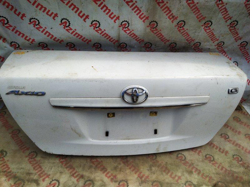 Крышка багажника Toyota Corolla Axio NZE144 1NZFE 2007 (б/у) 468/2