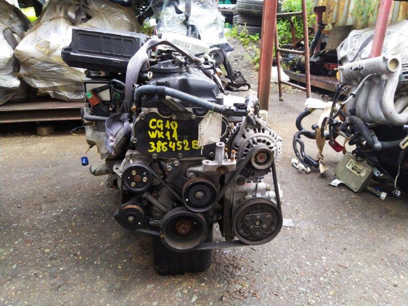 Двигатель Nissan March WK11 CG10DE 2000 (б/у) 386452B
