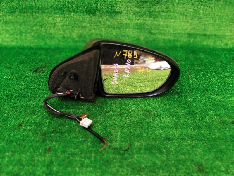 Зеркало Nissan Dualis KNJ10 MR20DE 2009 правое (б/у) 785