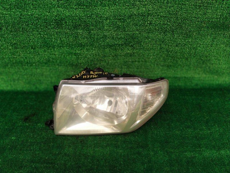 Фара Mitsubishi Pajero Io H77W левая (б/у) 200 100-87312