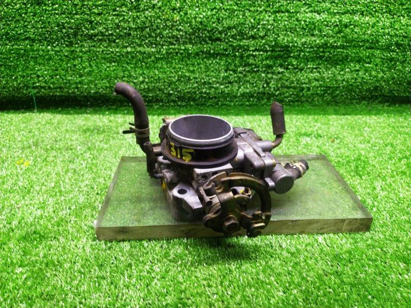 Заслонка дроссельная Toyota Corsa EL45 5EFE (б/у) 315