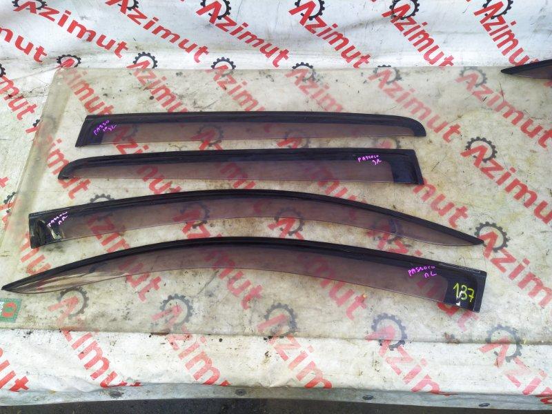 Ветровики комплект Toyota Passo KGC10 (б/у) 137