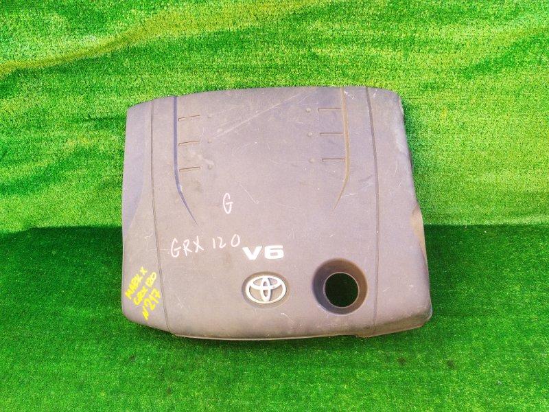 Пластиковая крышка на двс Toyota Mark X GRX120 4GRFSE (б/у)