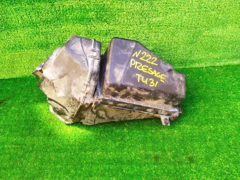 Корпус воздушного фильтра Nissan Presage TU31 QR25DE (б/у) 222