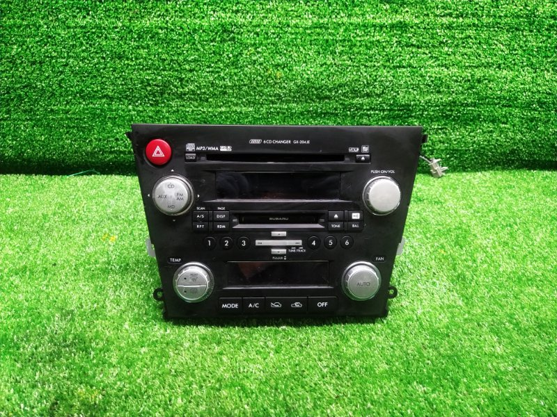 Магнитофон Subaru Legacy BLE EZ30 (б/у) 86201 AG070
