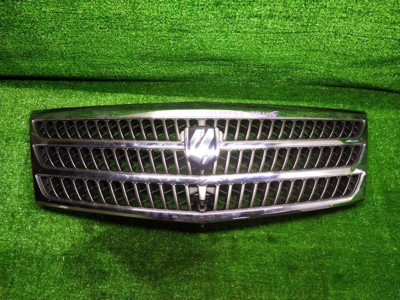 Решетка радиатора Toyota Alphard ANH15W (б/у) 53101-58021