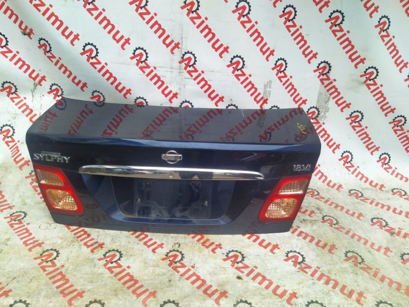 Крышка багажника Nissan Bluebird Sylphy QG10 2000 (б/у) 157