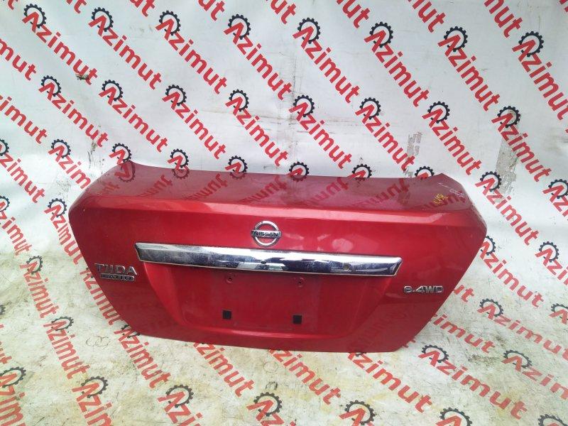 Крышка багажника Nissan Tiida Latio SC11 2005 (б/у) 158