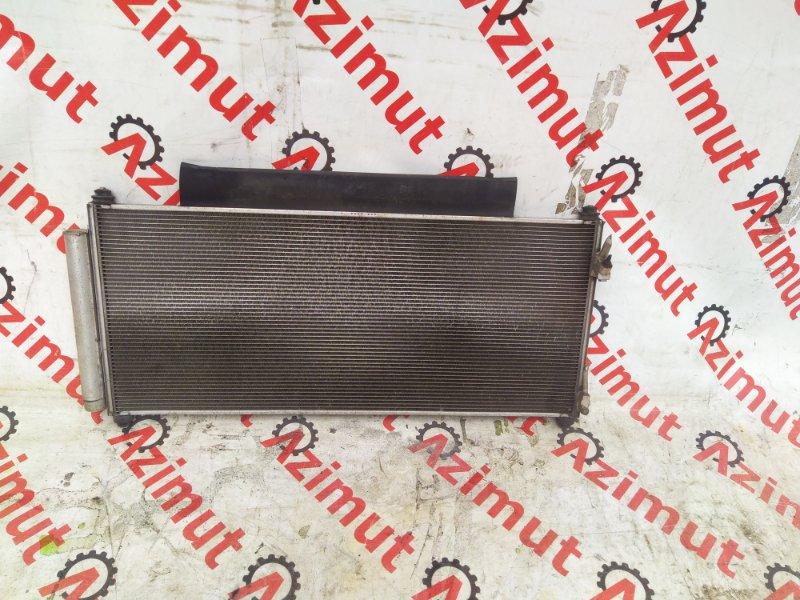 Радиатор кондиционера Honda Fit GE6 L13A (б/у) 386