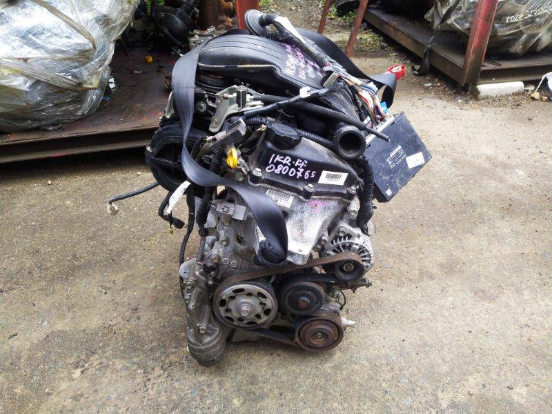 Двигатель Toyota Passo KGC10 1KRFE 2009 (б/у) 0800765