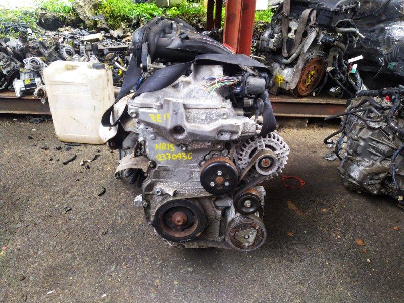 Двигатель Nissan Note ZE11 HR16DE 2012 (б/у) 237093C