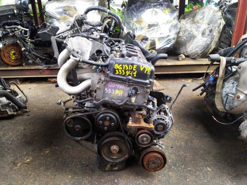 Двигатель Nissan Ad VY11 QG13DE 2004 (б/у) 333944