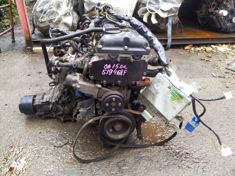 Двигатель Nissan Wingroad WFNY10 GA15DE 1999 (б/у) 519468F