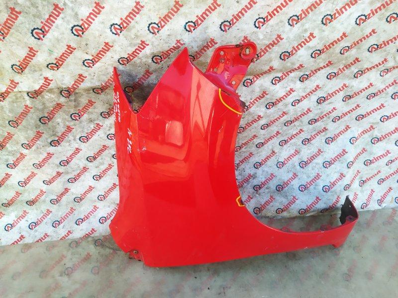 Крыло Toyota Passo KGC10 1KRFE 2007 переднее правое (б/у) 418