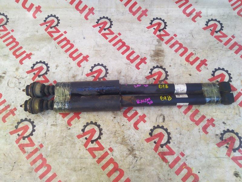 Амортизатор Toyota Raum NCZ20 1NZFE задний (б/у) 618