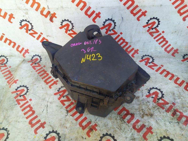 Корпус воздушного фильтра Toyota Crown GRS183 3GRFSE (б/у) 423