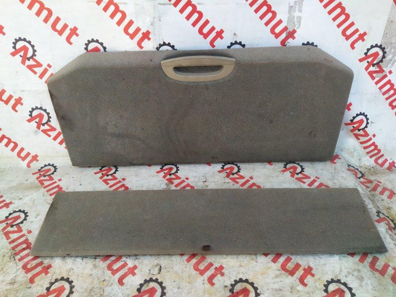 Обшивка багажника Nissan Note E11 (б/у) 454