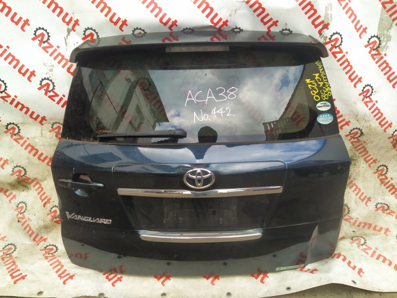 Дверь задняя Toyota Vanguard ACA38W 2AZFE 2010 (б/у)