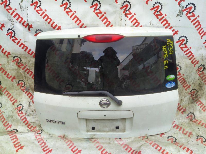 Дверь задняя Nissan Note E11 2005 (б/у)