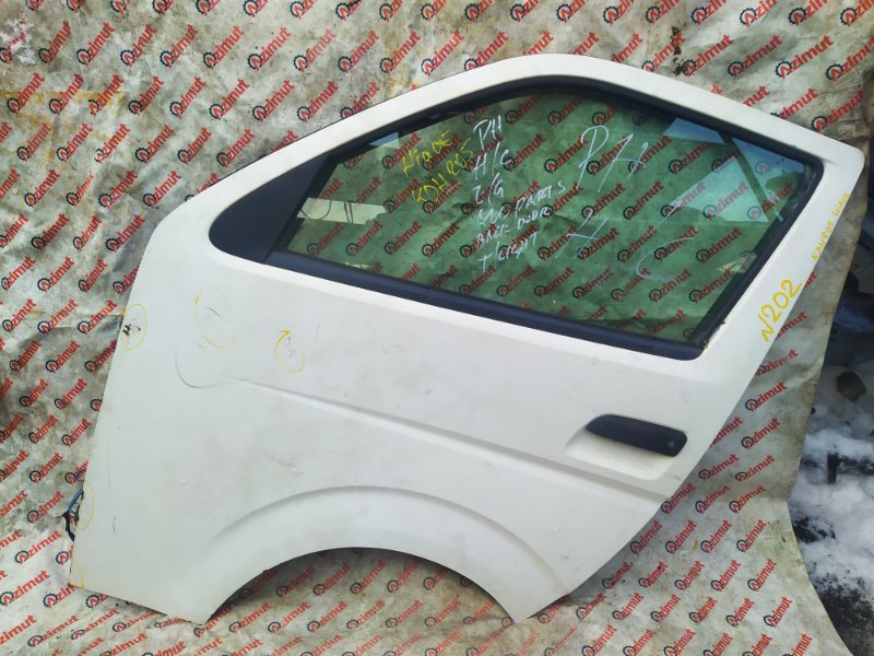 Дверь Toyota Hiace KDH205 2KDFTV 2007 передняя левая (б/у)