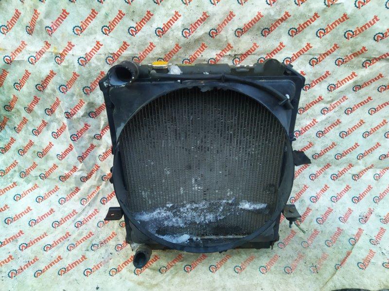 Радиатор основной Isuzu Elf NPR81 4HL1 2005 (б/у)