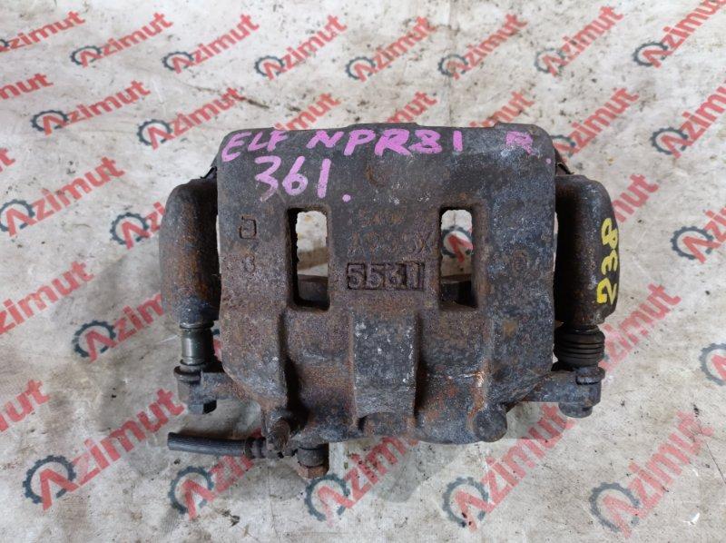 Суппорт Isuzu Elf NPR81 4HL1 2005 передний правый (б/у) A934X