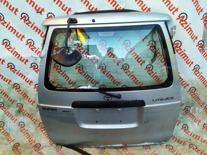 Дверь задняя Toyota Lite Ace KR52 7KE 2006 (б/у)