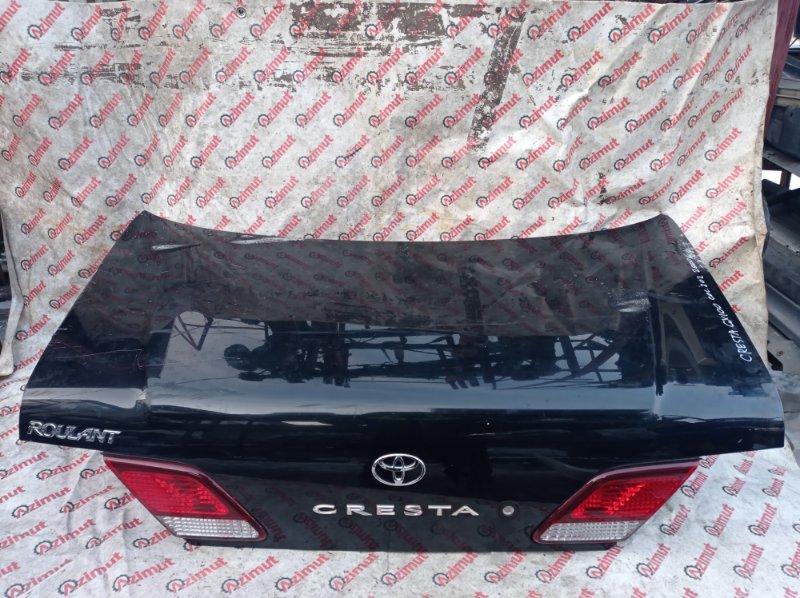 Крышка багажника Toyota Cresta GX100 1G-FE 2000 (б/у)