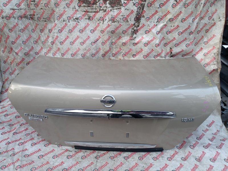 Крышка багажника Nissan Bluebird Sylphy QG10 QG18DE 2005 (б/у)