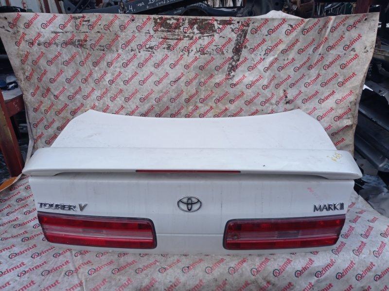 Крышка багажника Toyota Mark Ii JZX100 1JZGTE 1997 (б/у)