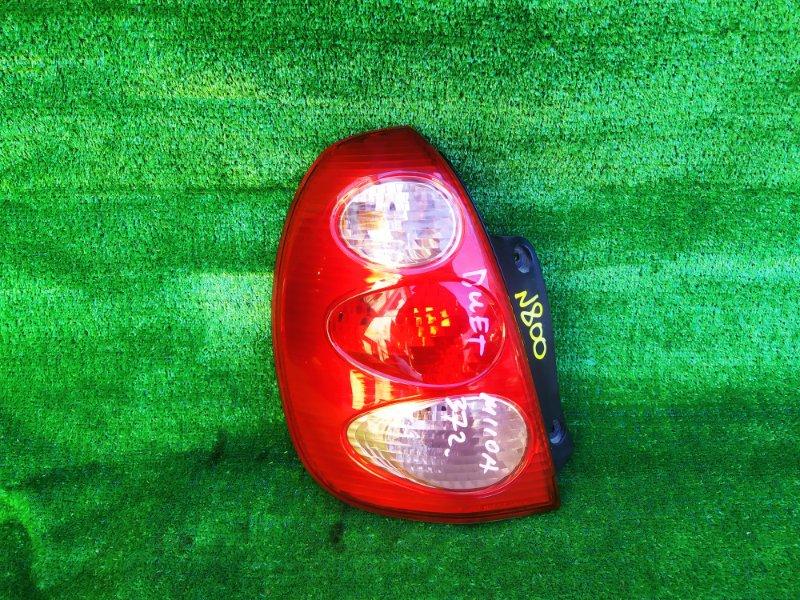 Стоп-сигнал Toyota Duet M110A EJ-VE 2003 левый (б/у) 22051716