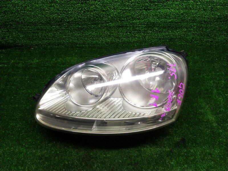 Фара Volkswagen Golf 1K1 BLF 2008 левая (б/у)