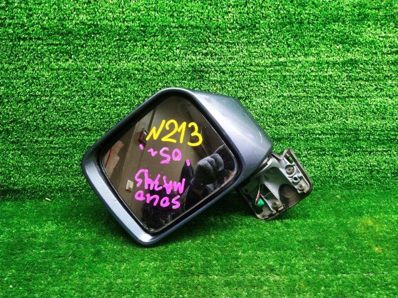 Зеркало Suzuki Wagon R Solio MA34S M13A 2005 левое (б/у)